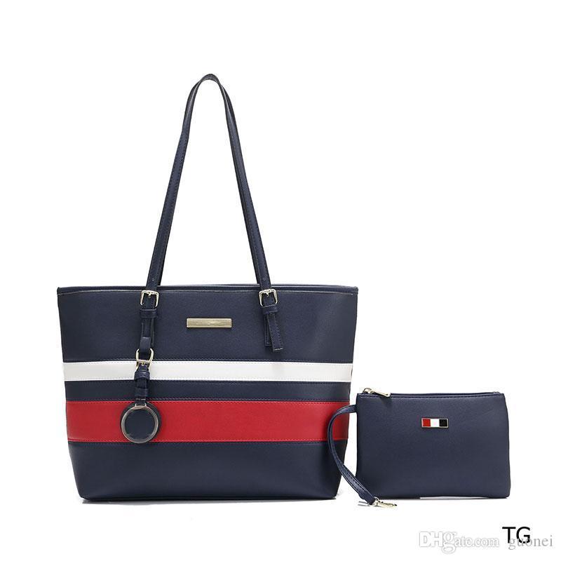 Designer-bolsas compostas mulheres mix de cores bolsas de alta qualidade bolsa pu couro 2019 novo estilo de designer bolsas