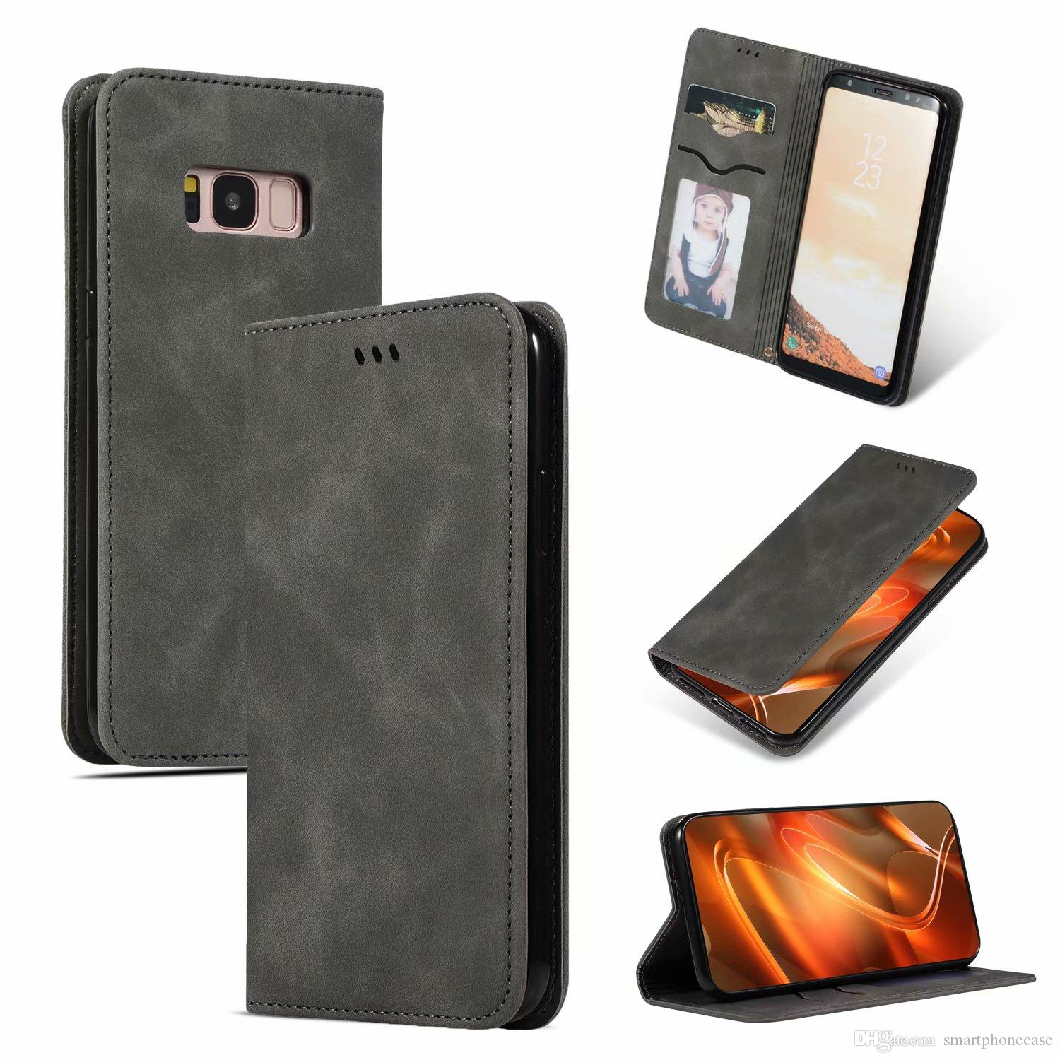 For Samsung Galaxy S8 Case Original Colorful Soft Luxury Wallet Cover Leather Case For Samsung Galaxy S8