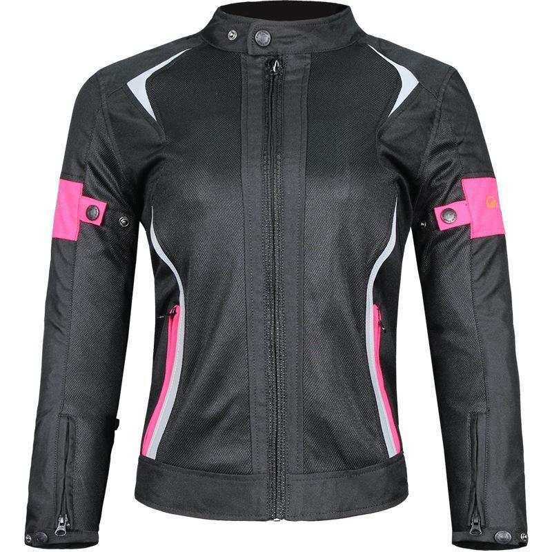 Rivestimento delle donne del motociclo Mesh traspirante Touring Moto equitazione Top impermeabile che corre vestiti per l'estate