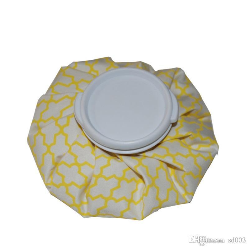 Tela Aislante Enfriador Raya Portátil A Prueba de Agua Paquete de Compresa Fría Bolsa de Aislamiento Térmico Bolsa de Hielo Venta Caliente 3 8fxE1