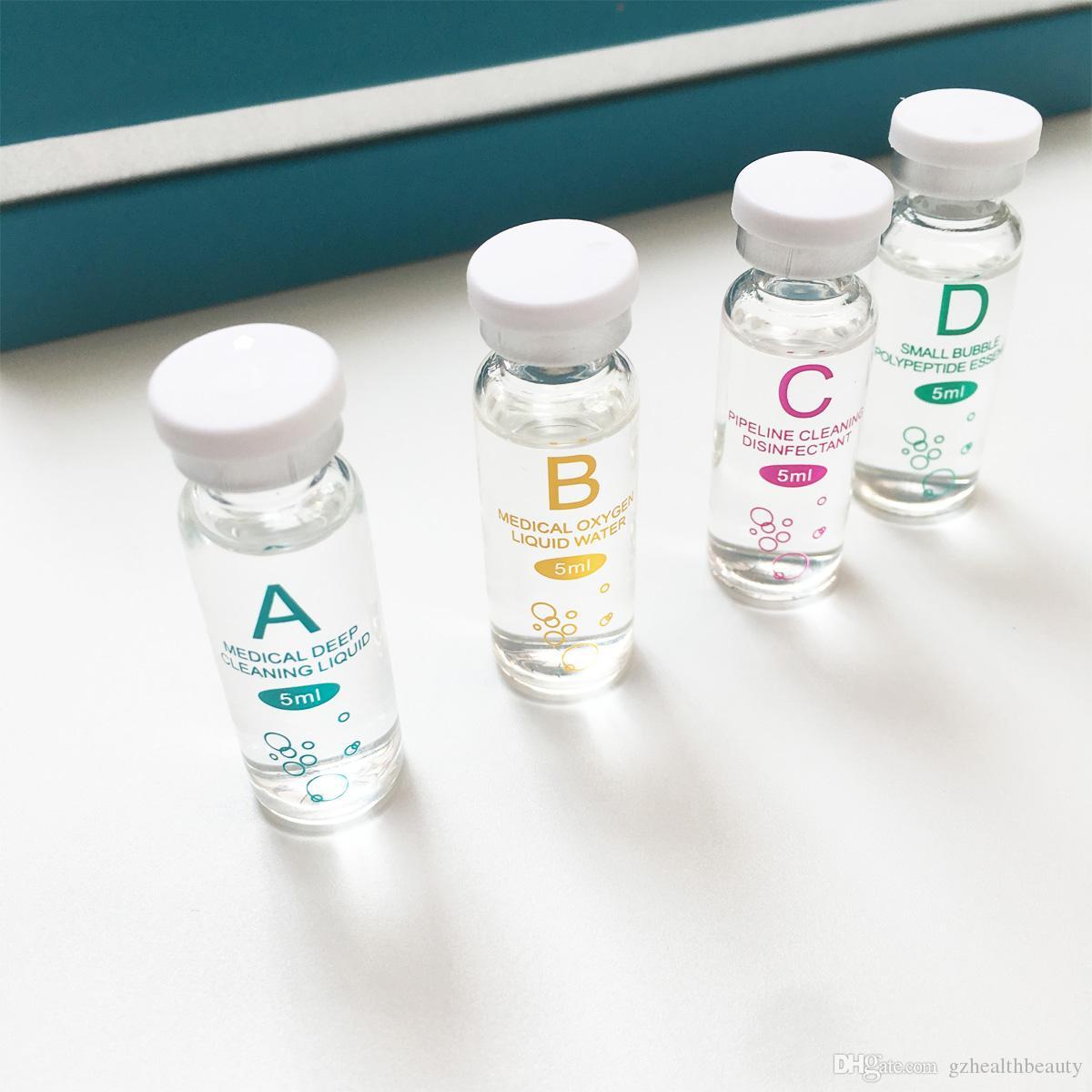 Suero de Aqua Solución descamación de la piel limpia esencia del producto facial Hydra para dermoabrasión máquina