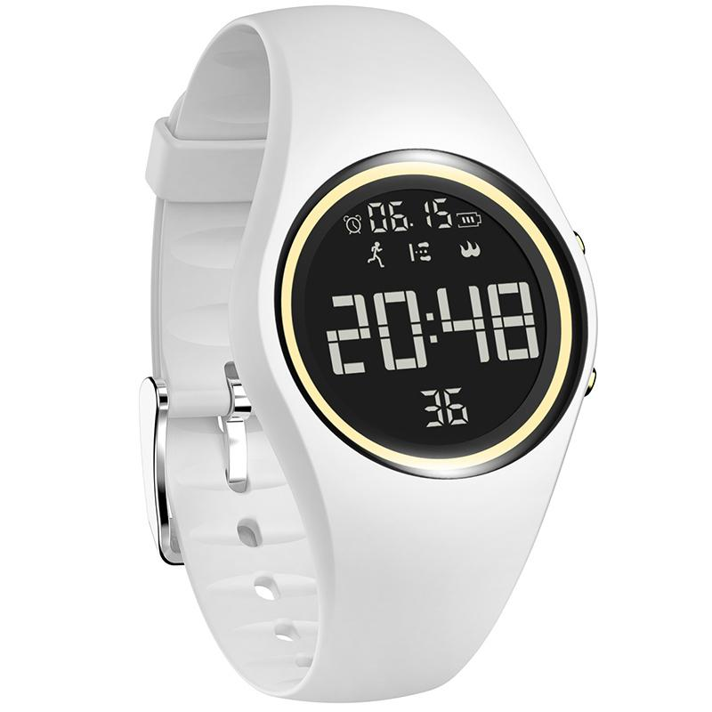 New Colorful Smart Sports Fitness Watch Women Fashion Creative Watches Waterproof Pedometer Motion Detection Digital Clock 2019 Y19062402