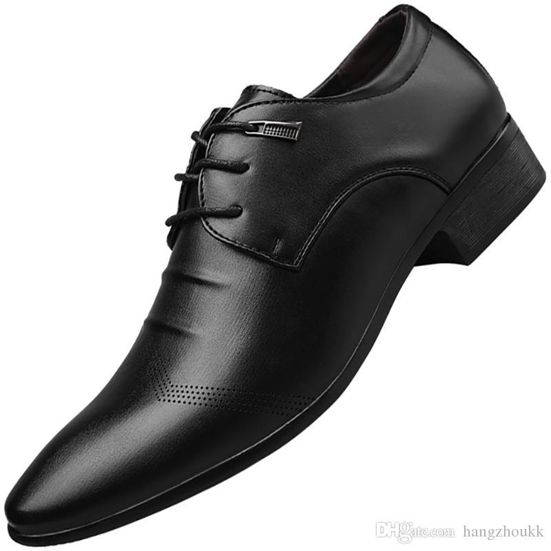 Yeni resmi oxford ayakkabı mens elbise ayakkabı adam gelinlik ofis ayakkabı erkekler için zapatillas adam deportiva mocassin homme