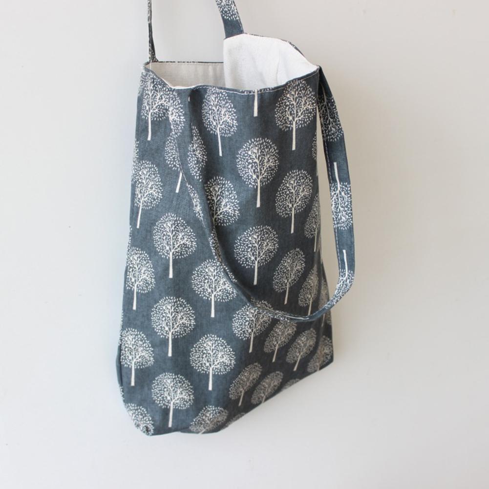 Harajuku Blume Malerei Umhängetasche Frauen Große Kapazität Einkaufstasche Weibliche Lässig Tote Handtasche