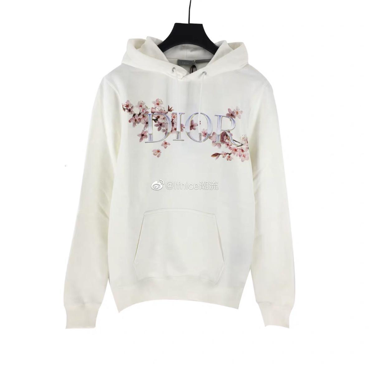 Femmes hoodies nouvelles lettres occasionnels tendance de la mode pêche broderie casual capuche en maille courte