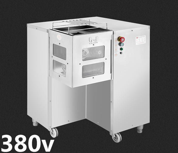 Neue 380V QSJ-B Multifunktions Vertikale Fleischschneider, Fleischschneidemaschine, Fleischschneidermaschine, Produktion 800kg / Stunde