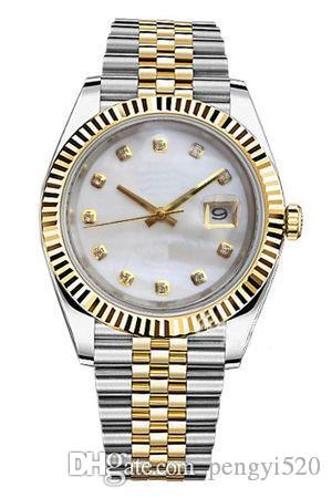 Designer-Uhren Der Master-Design-Bewegung Luxusuhr Montre de luxe Datejust 126333 126300 126334 126301 126333 116334 126331 Uhren