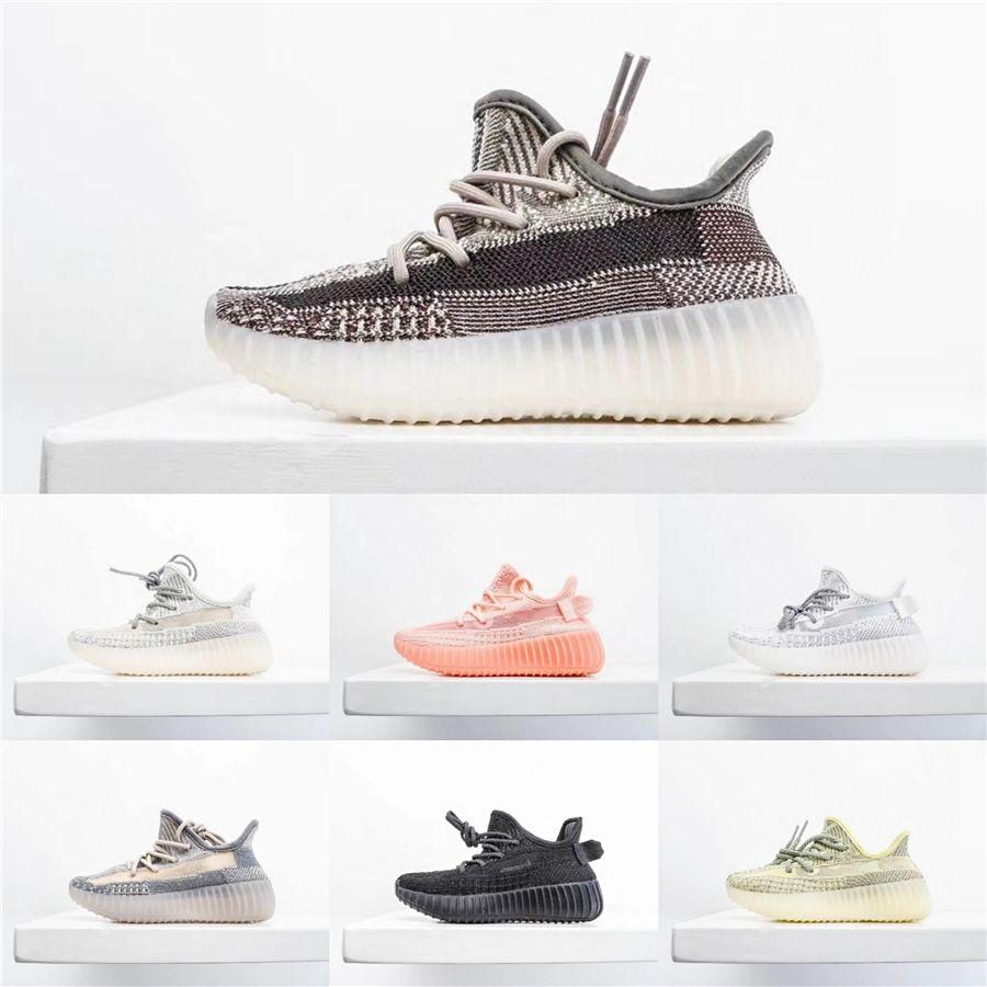 Nueva Moda para niños zapatillas de correr de diseño en las zapatillas de deporte del niño del bebé Kanye West Run zapatos infantiles para niños Niños Niñas Zapatos Eu Tamaño 26-35 # 161