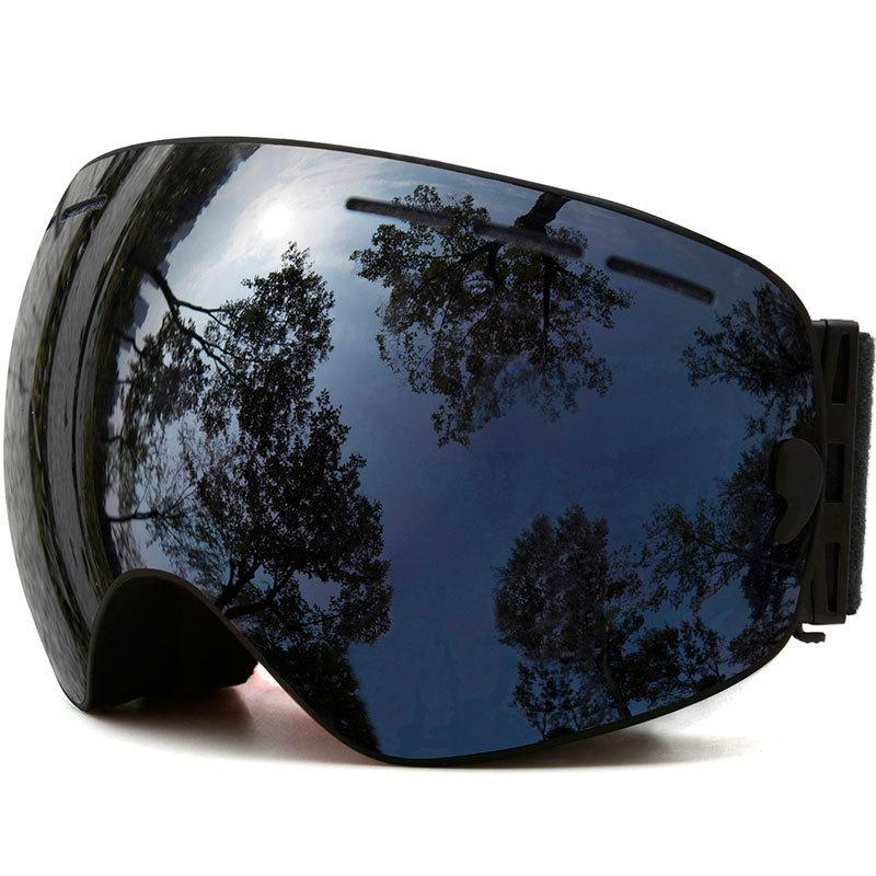 Men Protection Ski Mask,ski Goggles,double Layers Uv Anti-fog Skiing Women Snow Snowboard Goggles Sports Snowboard Goggles 8 AE4A