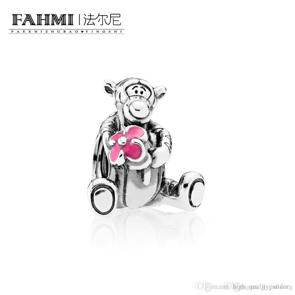 Fahmi 100% 925 Silver 1: 1 monili originali 792135EN80 autentico temperamento Fashion Glamour retrò tallone sposa Donne