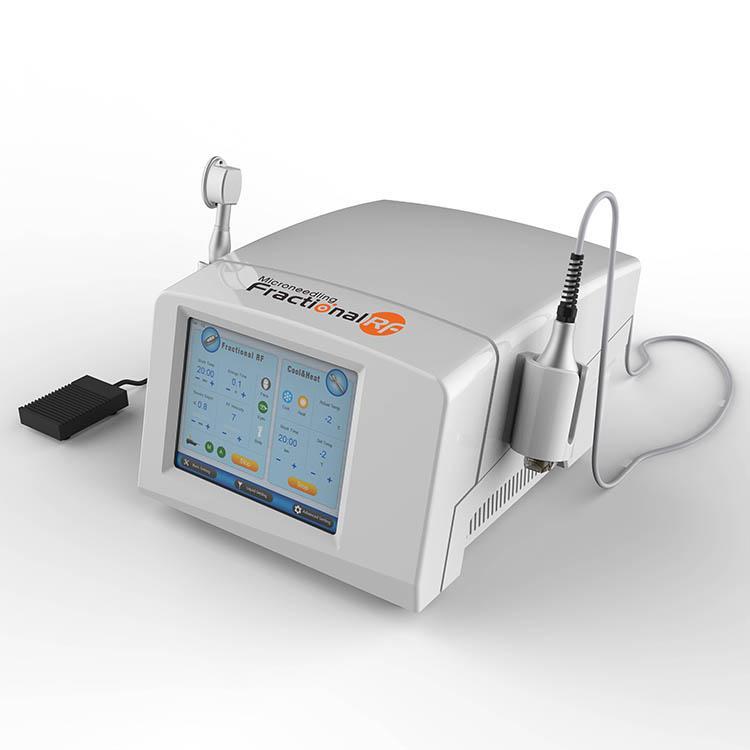 Irrésistible fractionnel RF Microneedle machine pour l'acné traitement de la peau resurfaçage fractionnel Rf Scarlet dispositif de micro-aiguilles