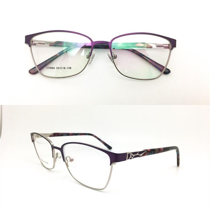 جديد جيدة رخيصة بصري اطارات رجالية أزياء المرأة خمر معدن الماس نظارات النظارات إطار نظارات نظارات نظارات السعر المنخفض CH004