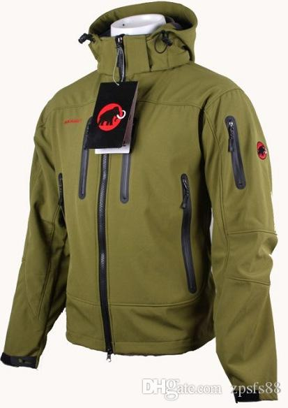 Men Jackets Heating Thermal With Caps Softshell Jacket Men Outdoor Winter Riding Travel Waterproof Jacket