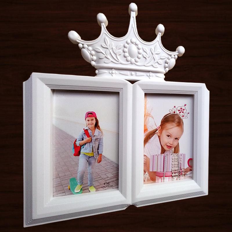 Quadro 6Inch Photo Picture For Children fotos do bebê 2 ABERTURA quadro na Tabela Decoração Início