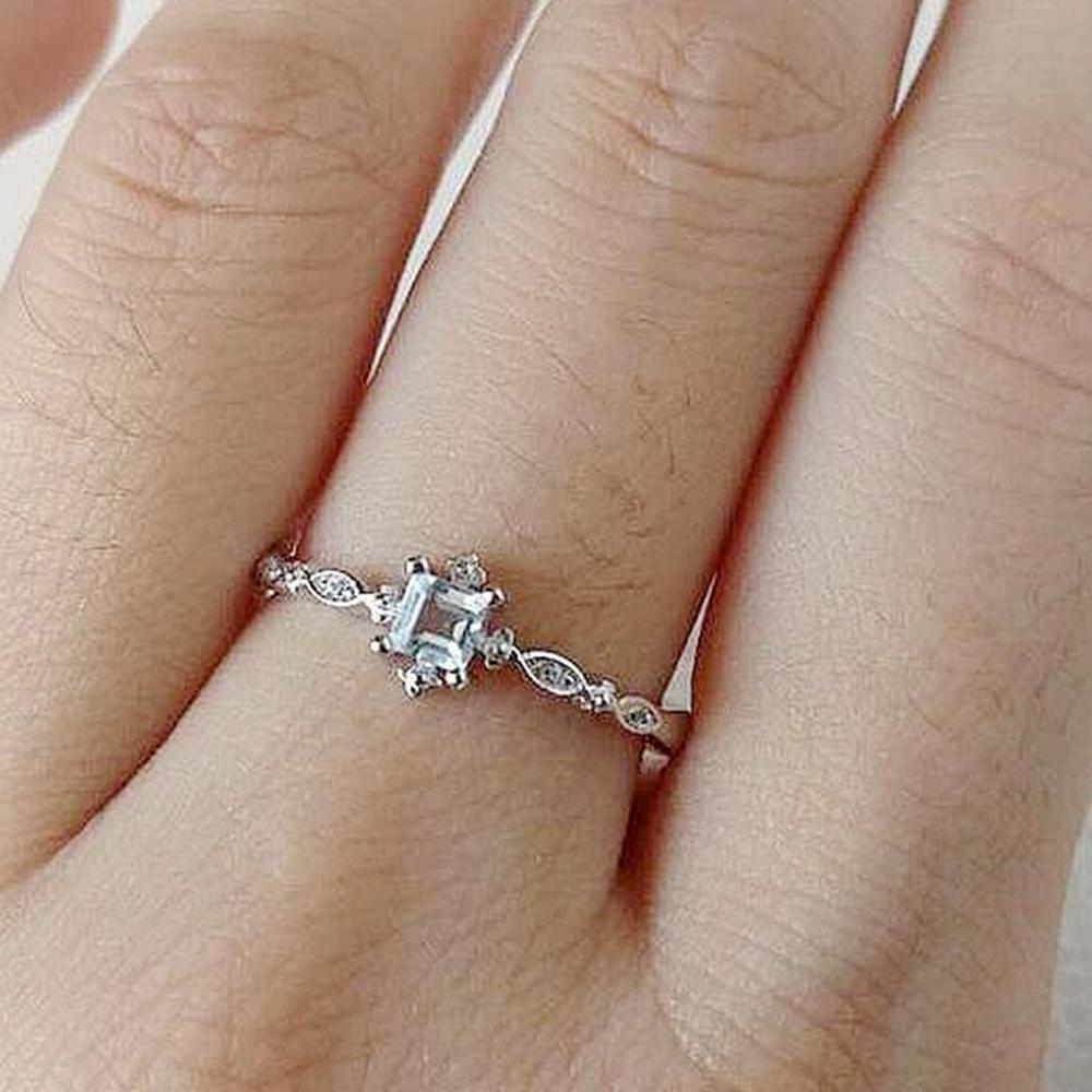 10шт горячие продажи Европейский и американский творческий новый свежий и элегантный Циркон кольца мода пастырский стиль женщины кольцо G-84