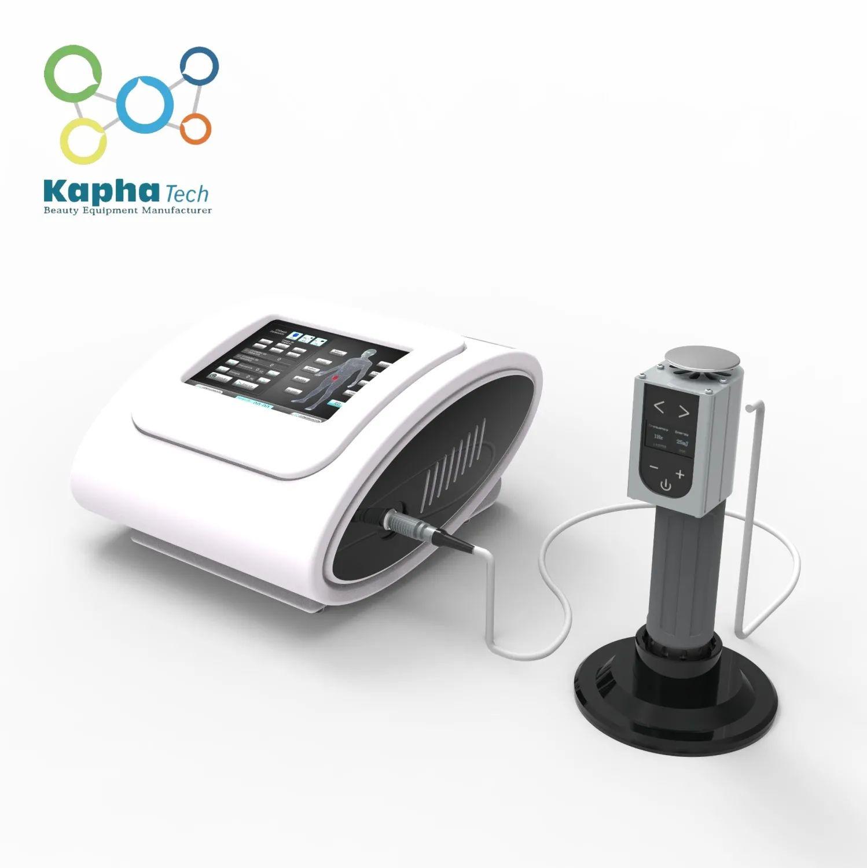 Fizyoterapi Şok Dalga Makinası Shockwave Terapi Cihazı ESWT Radyal Şok Dalga Fizyoterapi Ekipmanları İçin Ed tedavi