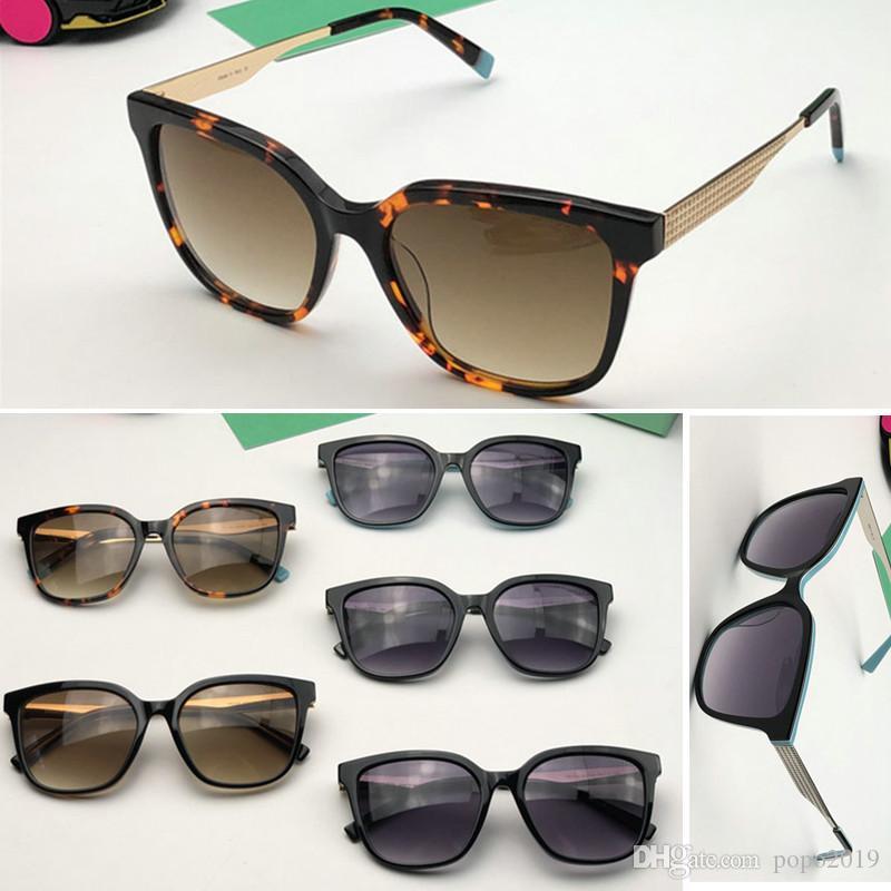 مصمم للجنسين TCO العلامة التجارية نظارات شمسية نسائية خمر فاخرة نظارات ساحة نظارات شمسية أنثى ذكر إيطاليا ظلال مع الأزرق أعلى جودة مربع