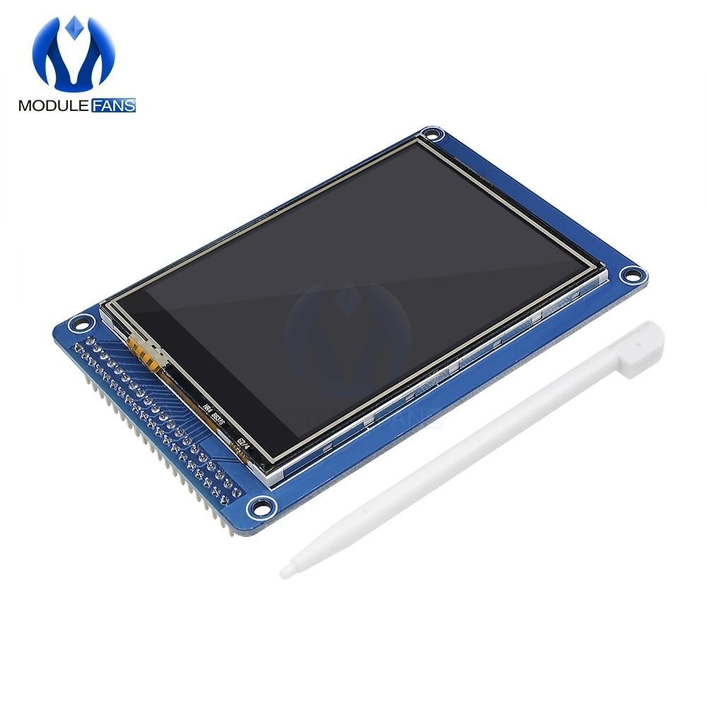 """3.2 Zoll 320x240 320 * 240 Tft Lcd-Modul-Anzeige mit Touch Screen Prüfer-Verkleidung Ili9341 Sd-Karte als 128x64 3.2 """"Lcd 3.3v"""