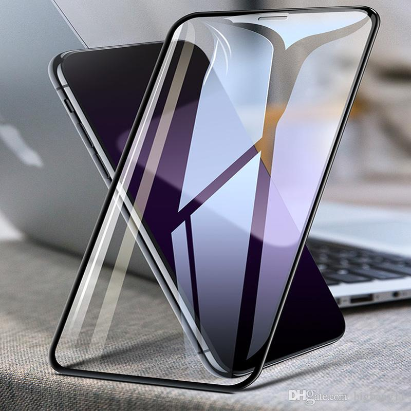 Vidro de protecção no iPhone o Para 11Pro max 8 7 6 6S Além disso iPhone Vidro X XR XS Max protetor de tela de vidro temperado