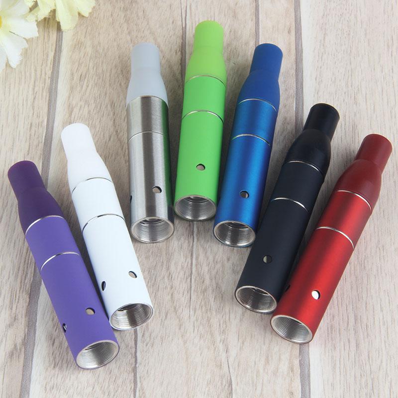erva seca atomizador G5 AGO para a bateria do ego seco Herb Wax vaporizador vaporizadores de ervas caneta cigarro eletrônico e mini-vapor caneta tanque de vidro
