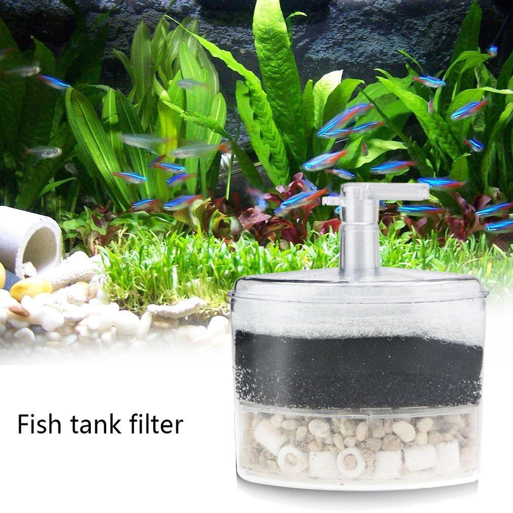 Acquario filtro vasca di pesci Mini acquario filtro pneumatico moda professionale di depurazione delle acque del serbatoio di acqua pulita