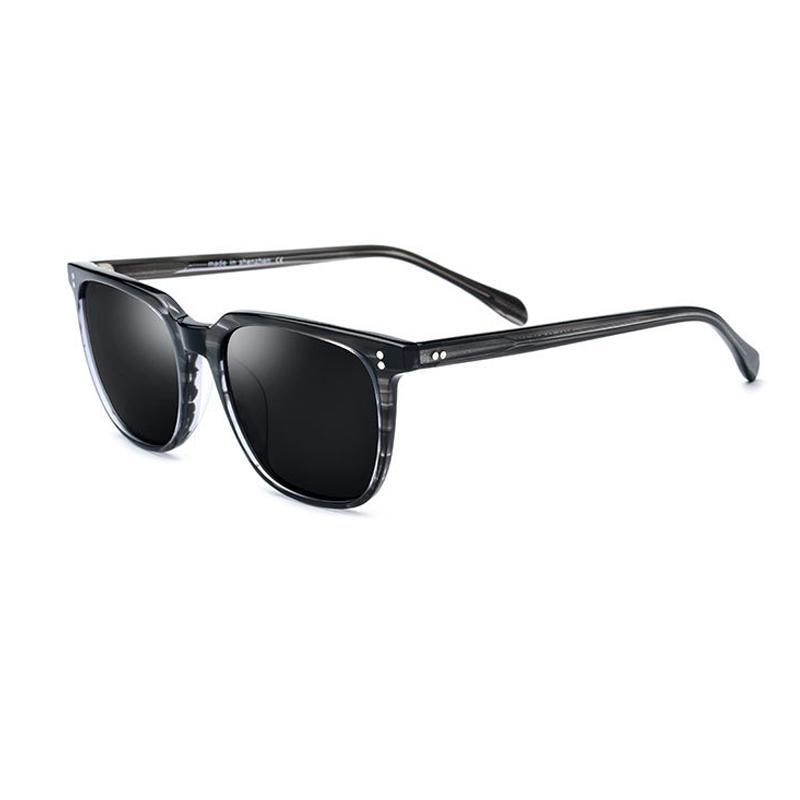 Новые поляризованные мужские солнцезащитные очки 4 цвета квадратные высококачественные солнцезащитные очки UV400 с коробкой T200629