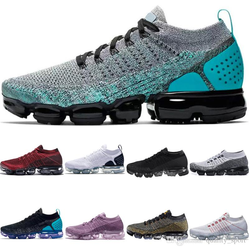 Wholesale cheap sneakers Plyknit Running Shoes Men Green Trainers Tennis 2018 Shoe Man Homme Kpu Sport Authentic Size 5.5-11