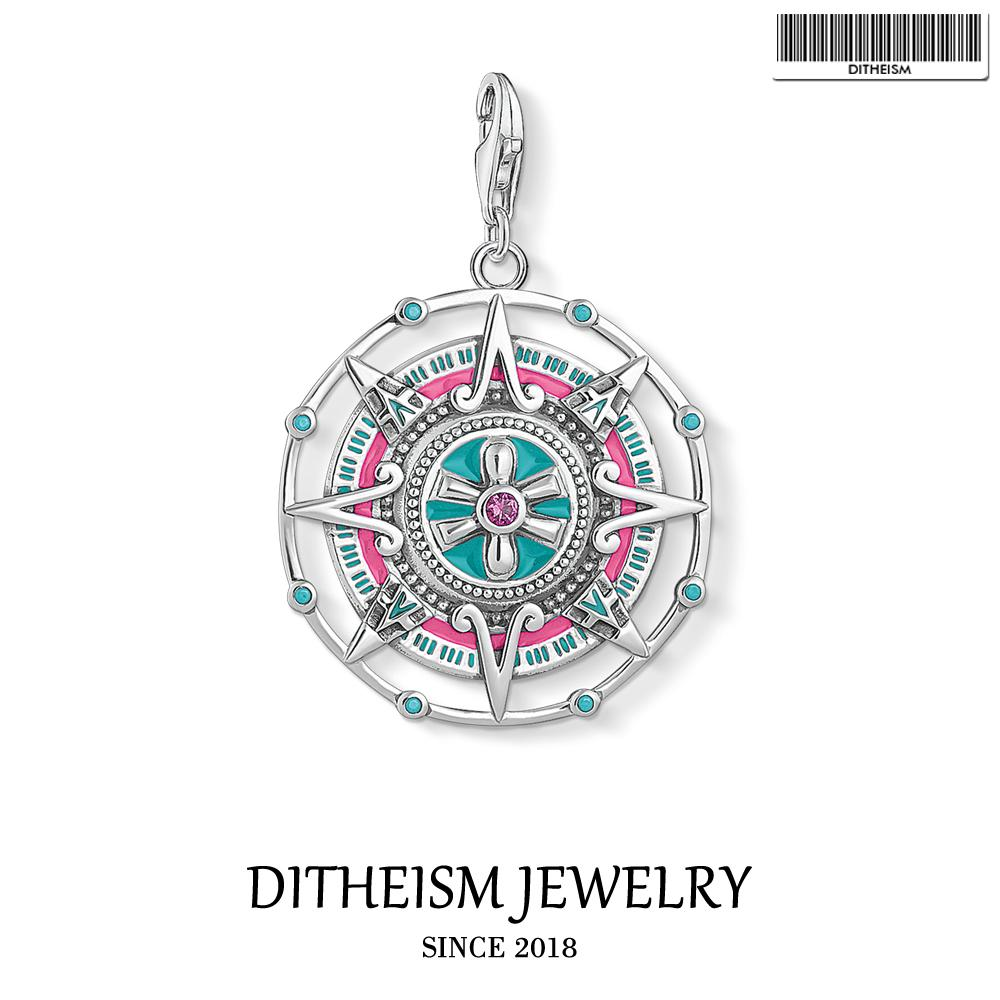 Mayan Calendar Charms Pendant,2018 Fashion Jewelry 925 Sterling Silver Trendy Ethnic Gift For Women Men Fit Bracelet Necklace