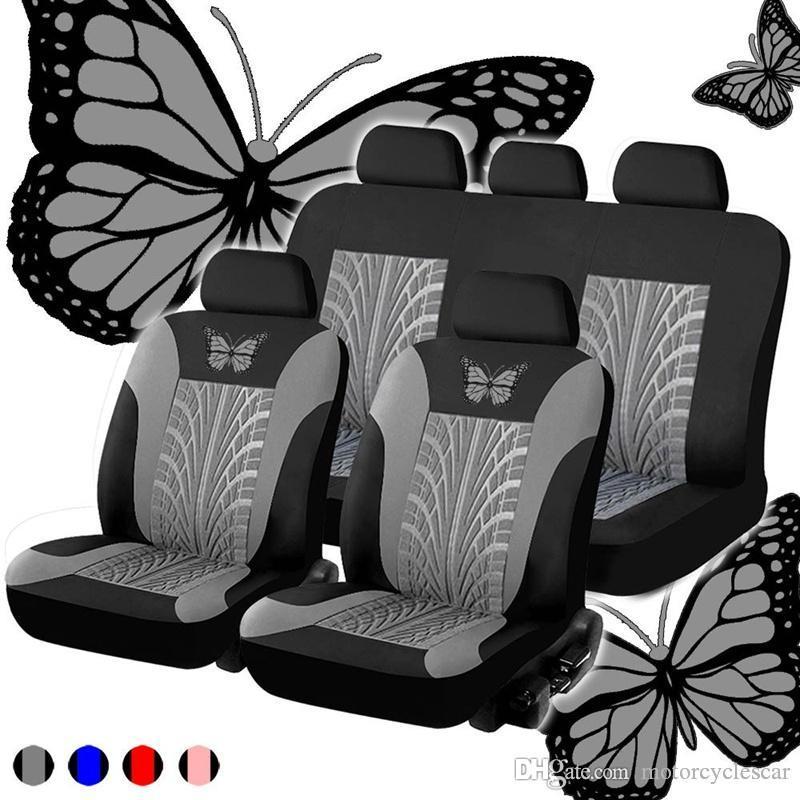 Luxus Staubdichtes Auto-Sitzabdeckung Autositz Schutzpolster Auto-Universalvierteiliges Set von neun Sätzen Von Wasserdichtigkeit und Staubschutzmatte