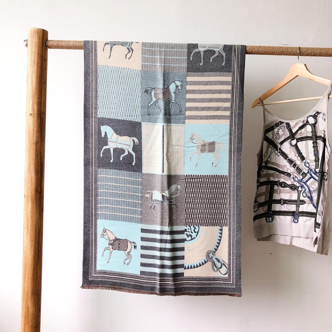 Inverno suave moda, quente, suave, agradável à pele marca de qualidade scarf.Ladies caxemira padrão animal lenço 180 * 70 centímetros p21