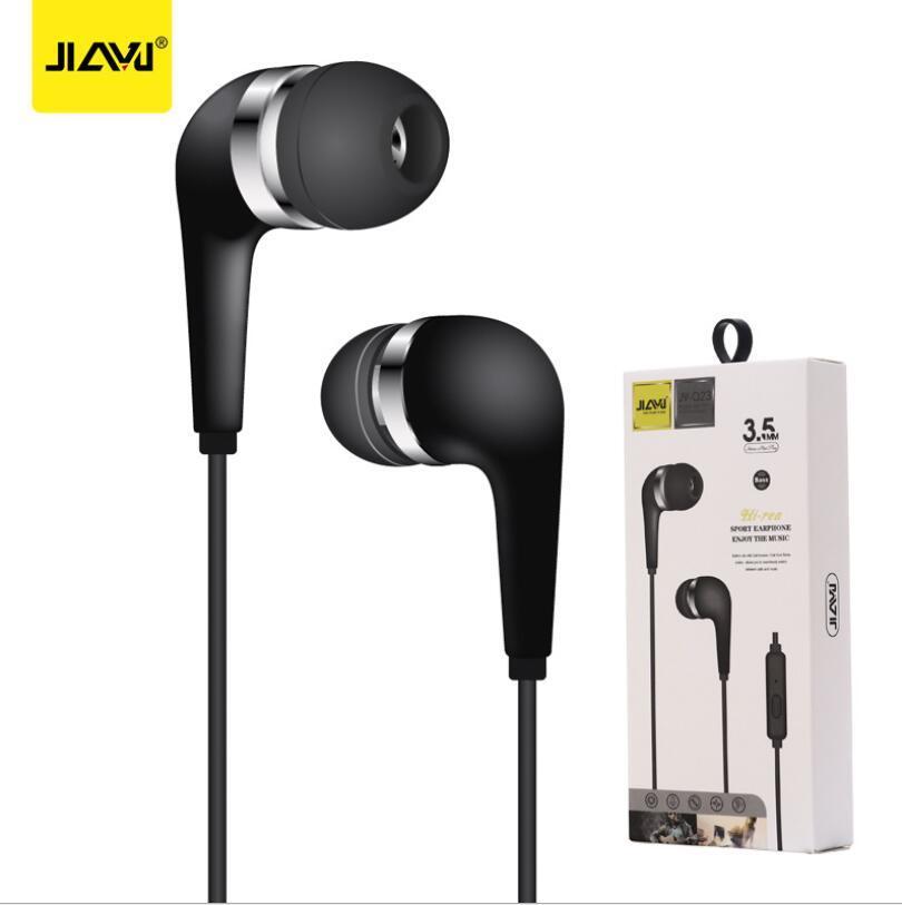 3.5mm의 이어폰 JY-Q23 슈퍼베이스 헤드폰 소매 상자 삼순 샤오 미를위한 MP3 휴대 전화 인 - 이어 이어폰에 대한 헤드셋 스포츠
