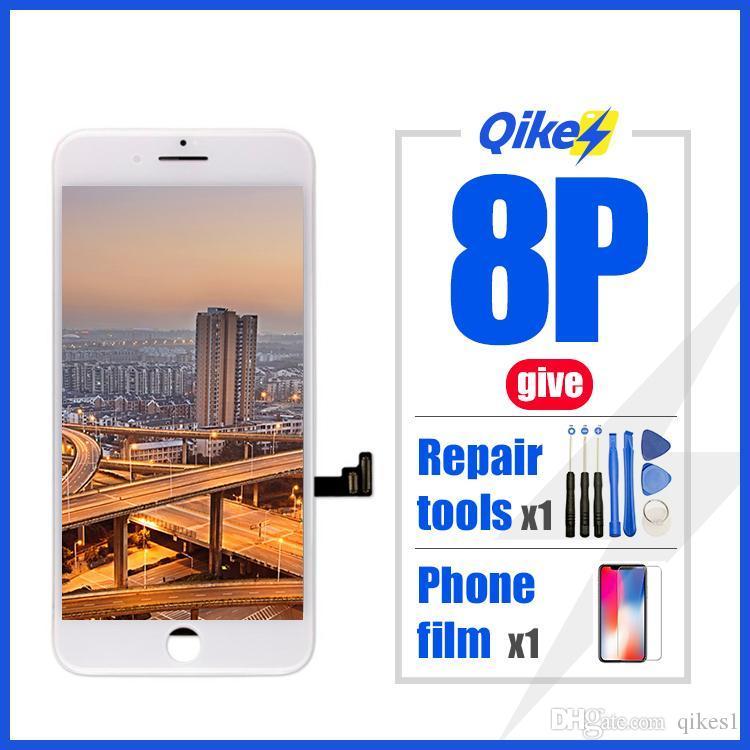iPhone Para 4A qualidade perfeita 8 PLUS Tela LCD Diaplay nenhum morto iPhone Pixel Pantalla Para 8 PLUS LCD com presentes