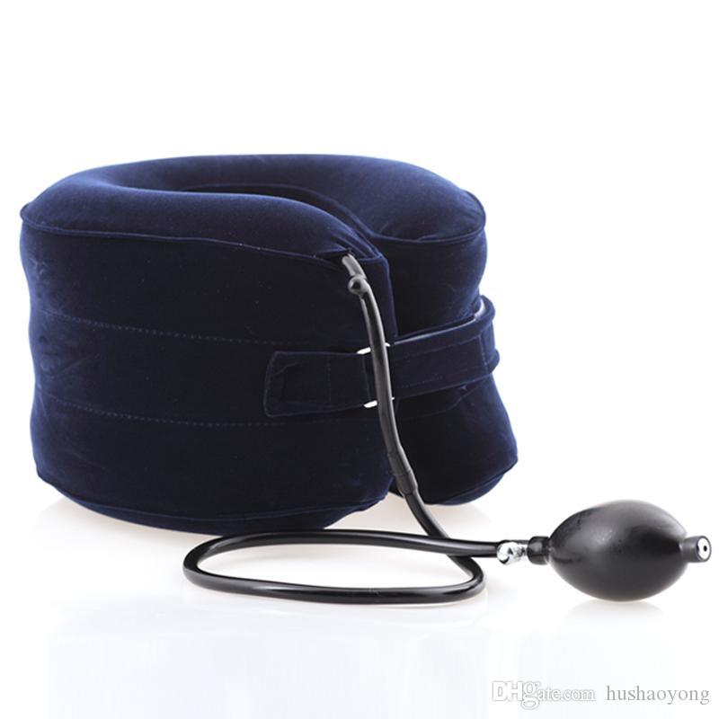 yuwell collo della trazione del collo massaggiatore trazione cervicale massaggiatore collo trazione gonfiabile cervicale Cuscino medico Dolore FDA del CE