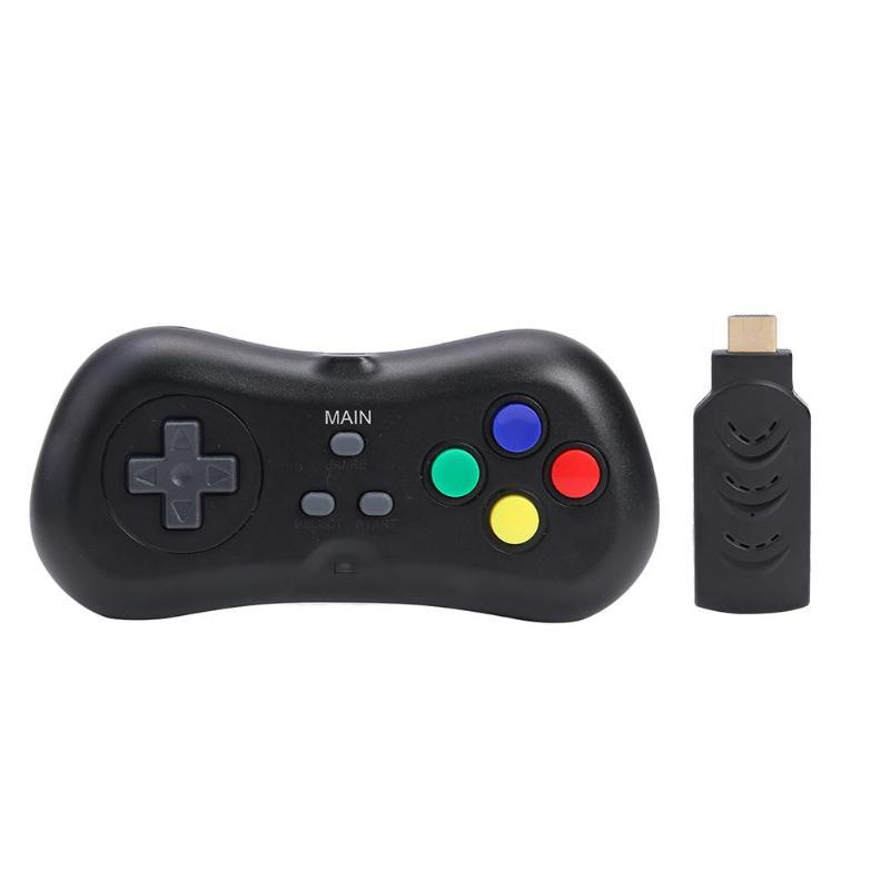 WG01 Super Mini TV Video Console Built-in 638 jogos consola de jogos com gamepad sem fio 2.4G