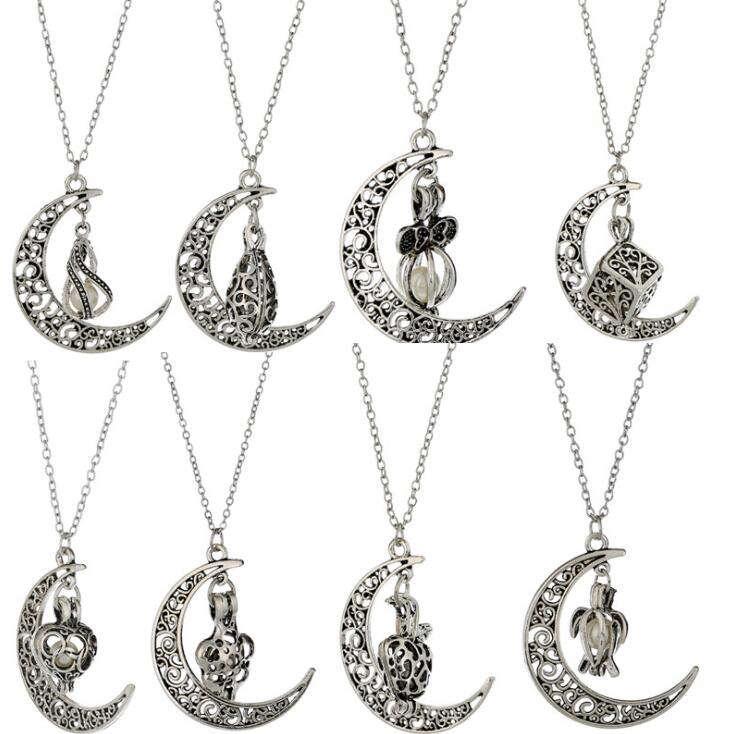 Liebe wünschen echte Perle-Halskette Oyster-Anhänger-Halskette DAN586 Mischungsauftrag hängende Halsketten