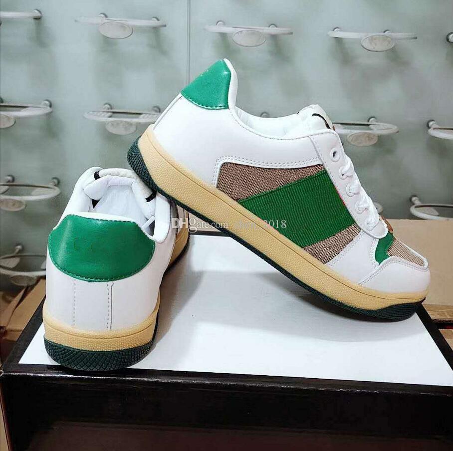 Nuovi Ace Uomo Donna Sneakers Mocassini Moda Low Cut Lace-up pattini casuali di sport a piedi all'aperto calza il formato 36-44