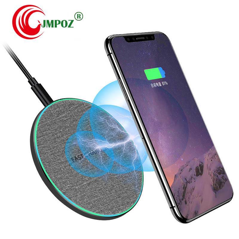 2020 Qi Lade Schnelle Auflage für Huawei 20 Pro P30 Pro LG V30 V30S V35 V40 V50 G8 G8S Thin Qi Wireless-Ladegerät-Energien-Telefon-Zusatz Kameraden