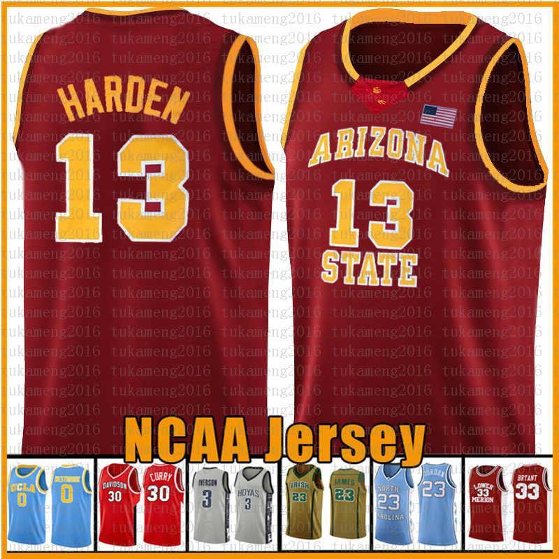 Rouge 13 NCAA Basketball Jersey Arizona University State Bethel Irish High School Jerseys 23 2 Leonard 3 Wade 11 Irving 30 Curry