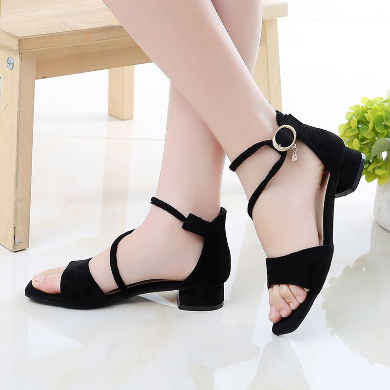 2020New Fashion Children Heel Shoes