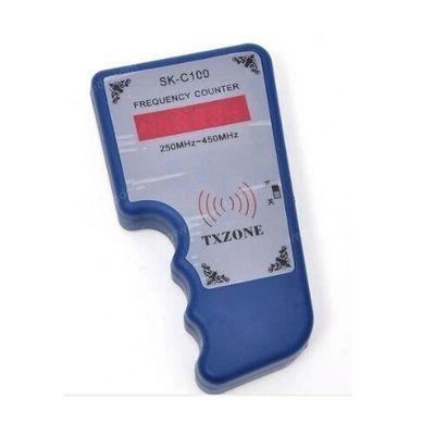 SK-C100 RF Wireless RF Medidor de frecuencia del escáner Contador Contador Detector Wavemeter 250MHz-450MHz