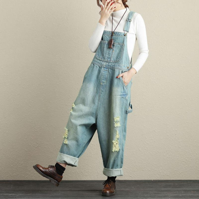 One Shirt With Water Will Code Wear Light Colour Straps Jeans Woman Leisure Time Loose Cowboy Trousers With Broad Legs Trend