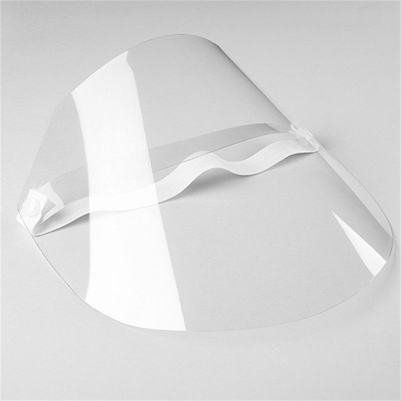 2020 Adjustable Elastic Bands Protective Masks Transparent Film