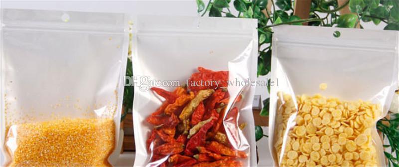 Embalagem de varejo plástico Zipper da válvula de Resealable da folha de alumínio clara dianteira Embalagem de Zyl do saco de Mylar do zíper da embalagem de varejo Ziplock sacos de Ziplock da folha do alimento