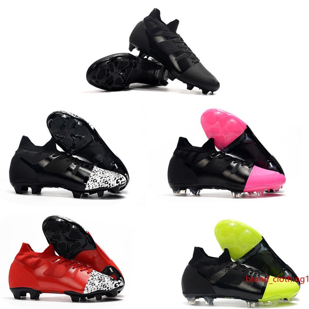 scarpe da calcio caldo uomo Mercurial Greenspeed GS 360 FG morsetti di calcio Superfly ramponi de dimensione scarpe da calcio 39-45
