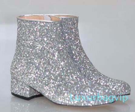 Hot Sale T Stage Women Glitter Ankle