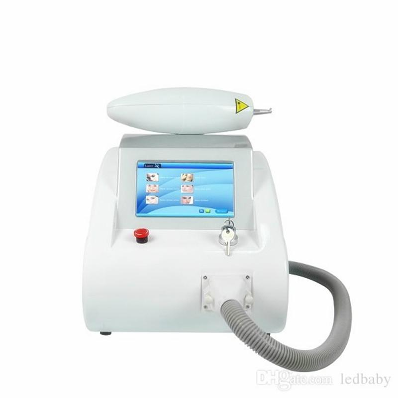 ND YAG laser tatoo removal beauty equipment have touch screen 1000w scar freckle removal scar acne tattoo remover CE