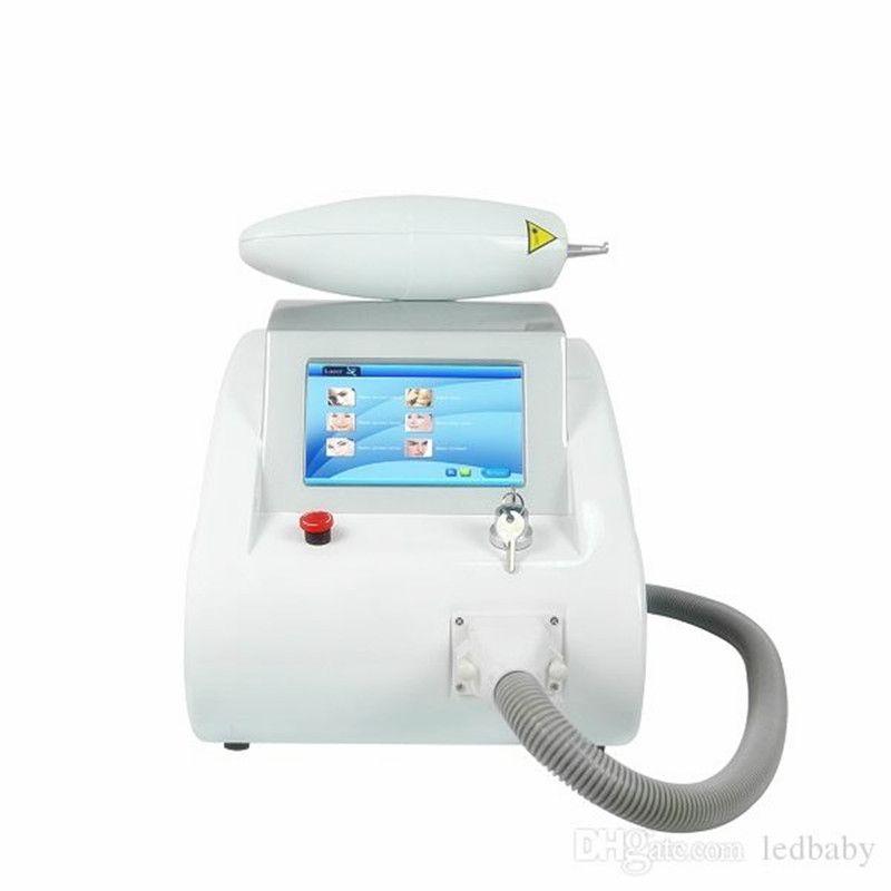 ND YAG láser eliminación tatoo equipo de la belleza tiene pantalla táctil 1000w cicatriz removedor de tatuaje de la cicatriz del acné retiro de la peca CE
