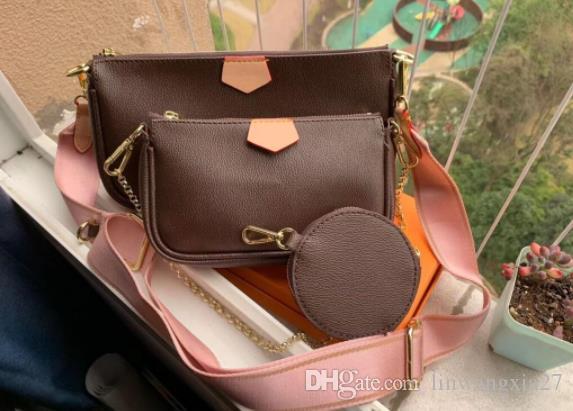 النساء حمل حقيبة الكتف حقيبة 3 قطع مجموعة حقيبة يد أعلى مقبض crossbody مخلب حقيبة محفظة