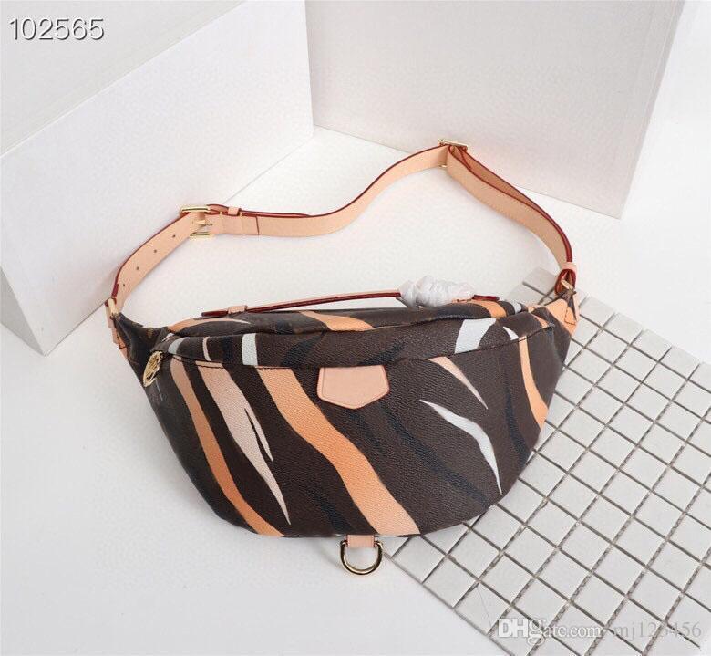 El más nuevo diseñador stlye famosa marca Bumbag Cruz cuerpo hombro bolsa AUTN material cintura empaqueta M43644 Bumbag Cruz del paquete de Fanny del vago cintura empaqueta