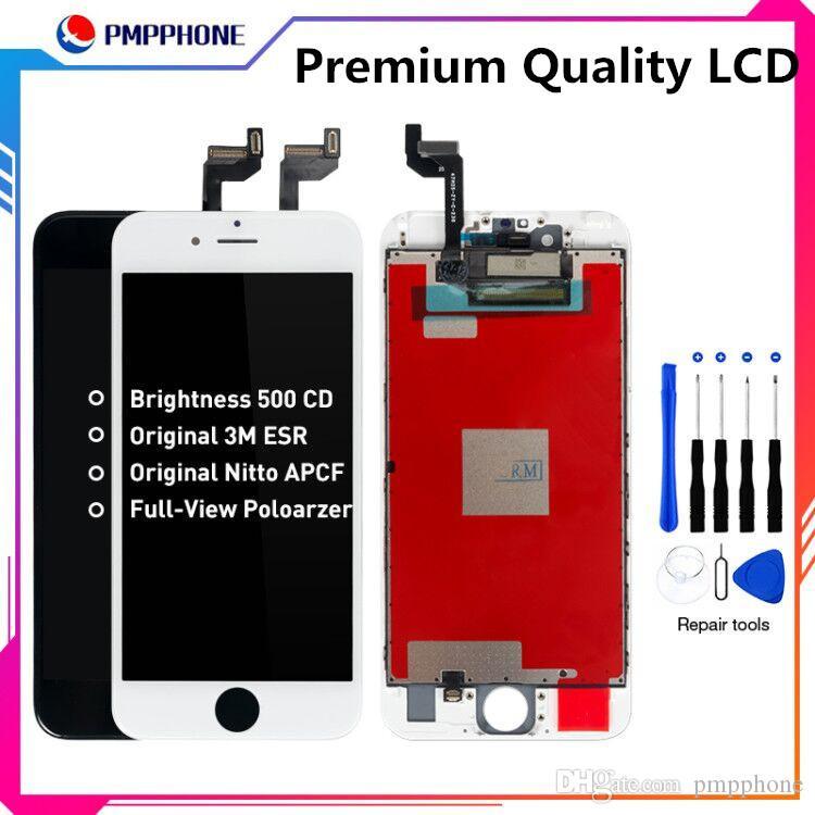 Premium Qaulity ESR LCD w pełnym widoku dla iPhone 6S 6SP 6P Ekran Wyłącznik Digitizer